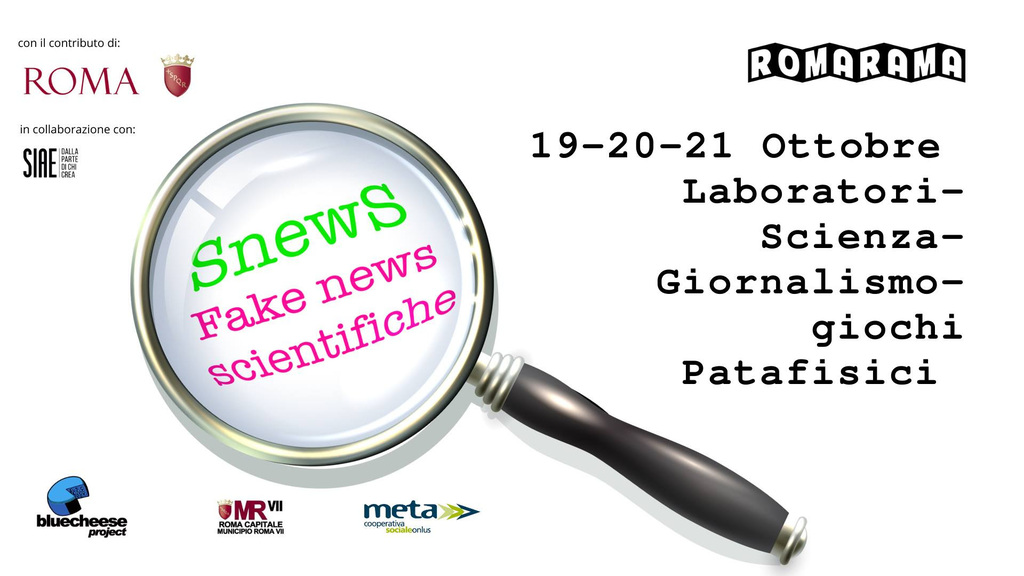 Snews - Fake news scientifiche. Terza edizione