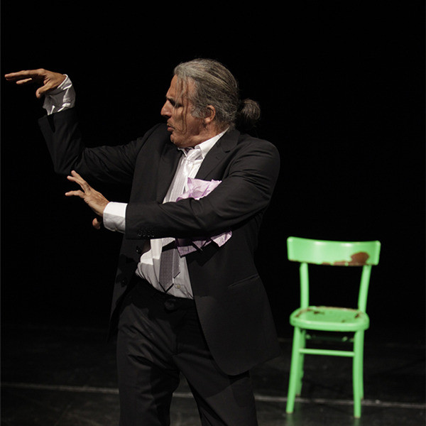 """Teatro: """"120 chili di Jazz"""" di e con Cèsar Brie"""