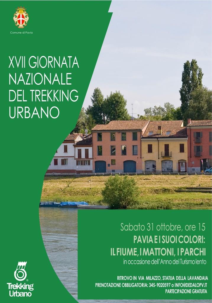 Trekking Urbano 2020 a Pavia