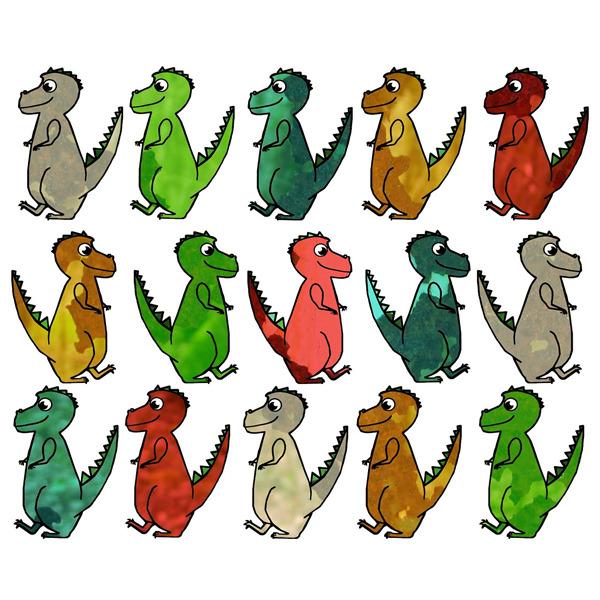 DinoDomenica. I Dinosauri a matita - Laboratorio online