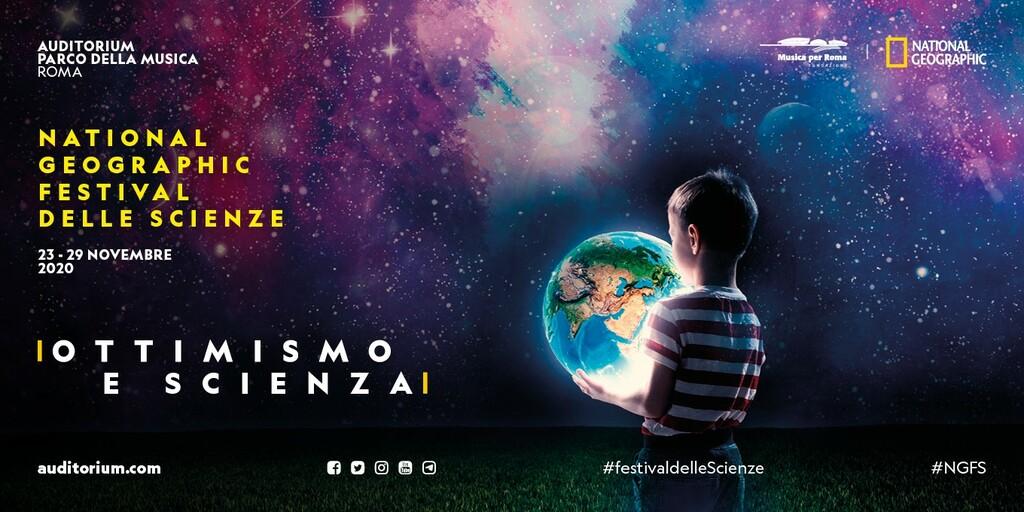 """National Geographic Festival delle Scienze: """"Ottimismo e Scienza"""""""