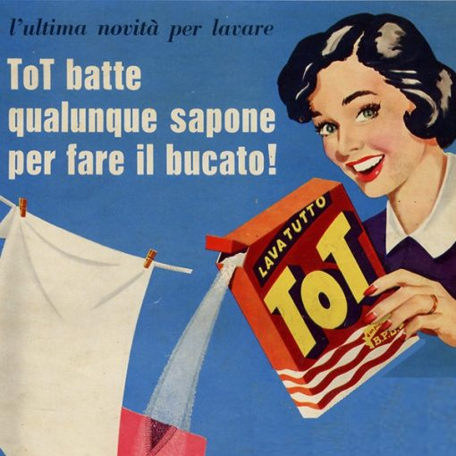 Pausa Pubblicità: ToT è il detersivo che lava tutto in modo prodigioso (1956)