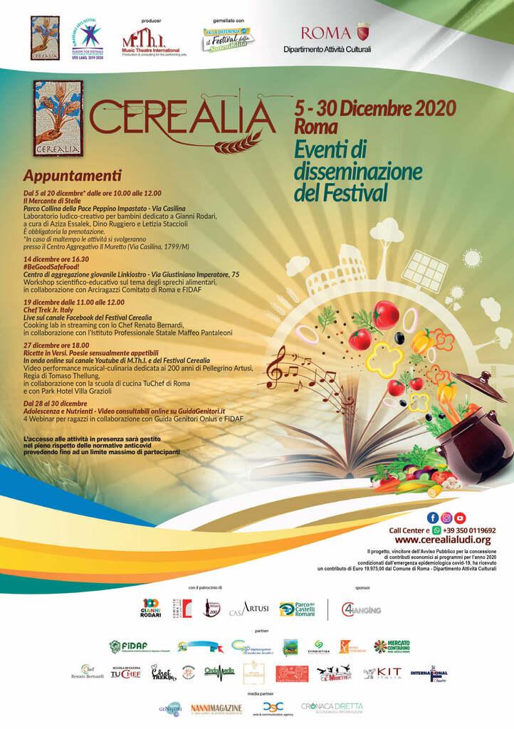 Festival Cerealia - La festa dei cereali e del Mediterraneo