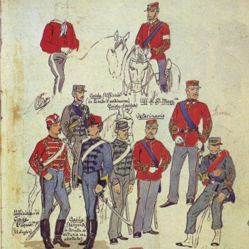 Uniformi militari - Il Codice Cenni: Tavola 09