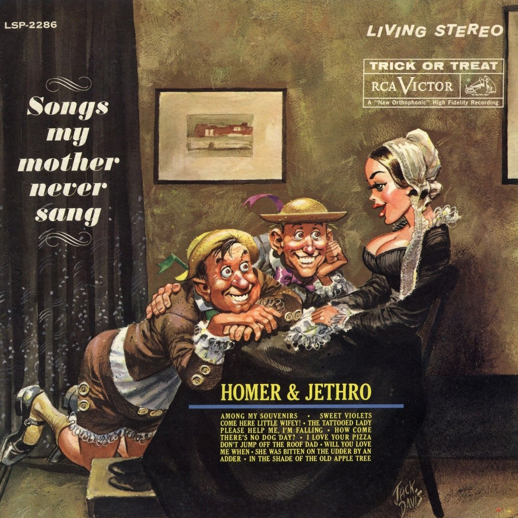 B-Covers, il Meglio del Peggio: Homer & Jethro - Song my mother never sang