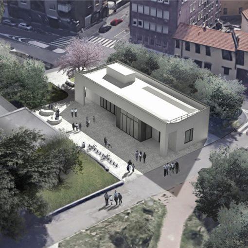 La Piazza dei Saperi: il nuovo padiglione della Biblioteca di Baggio
