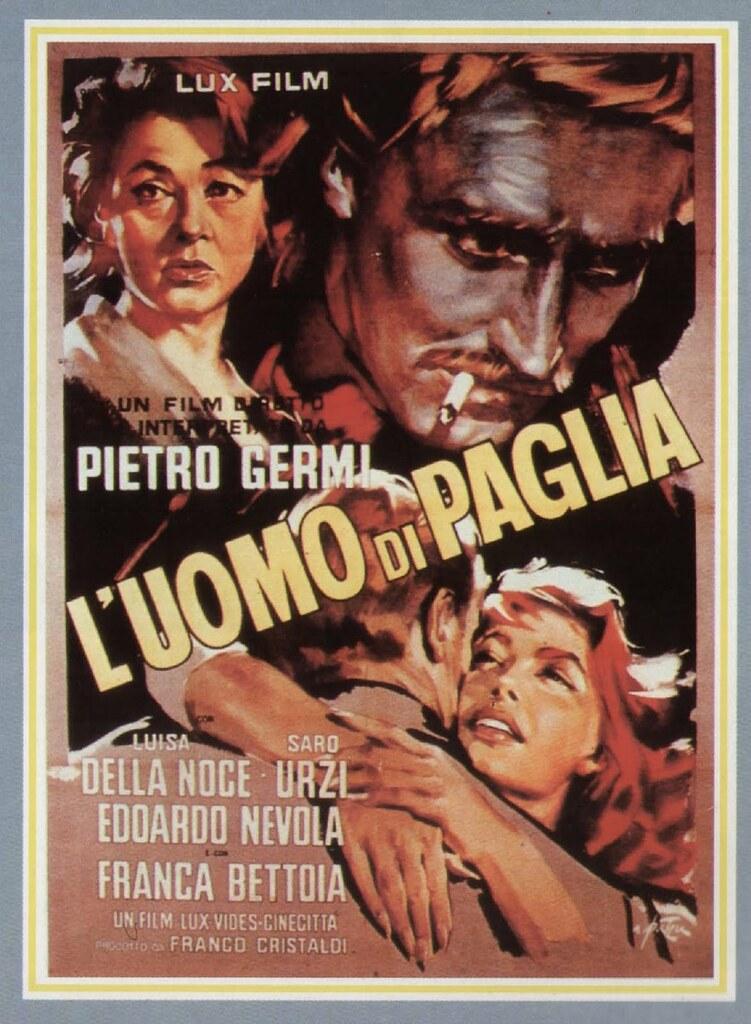 """Locandine - Il Cinema per immagini: """"L'uomo di paglia"""""""
