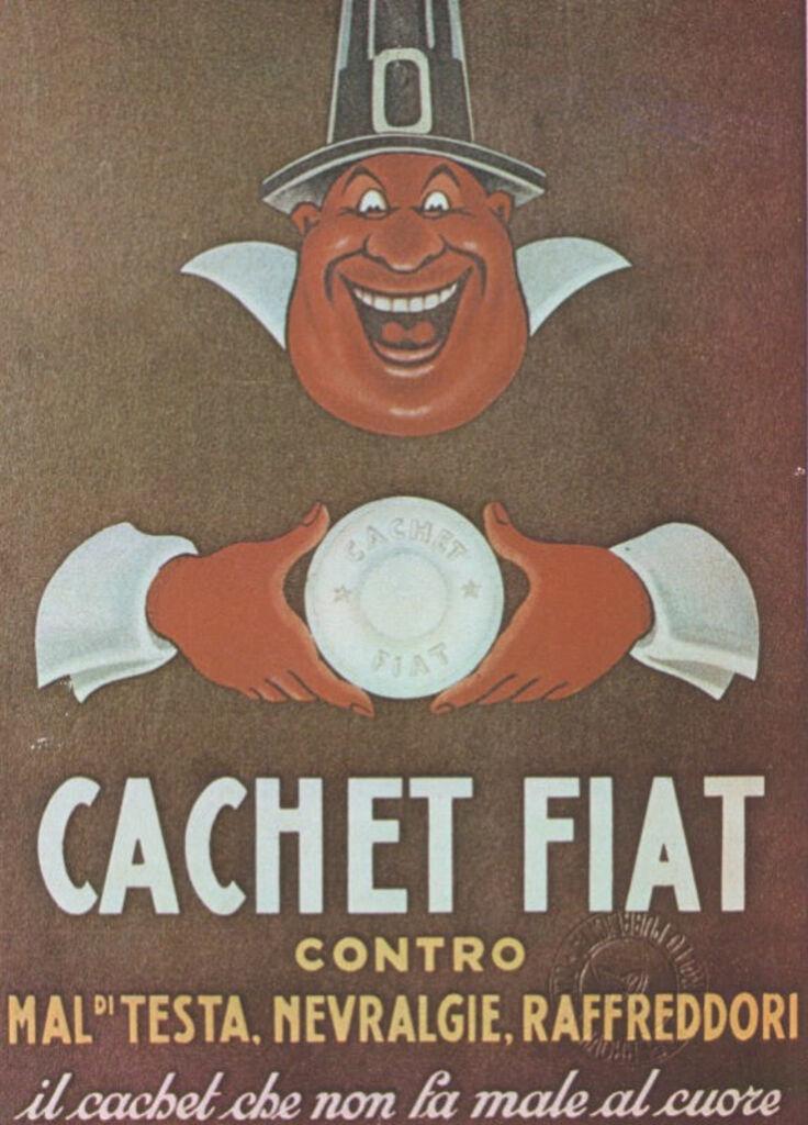 "Manifesti d'epoca: ""Cachet Fiat"""
