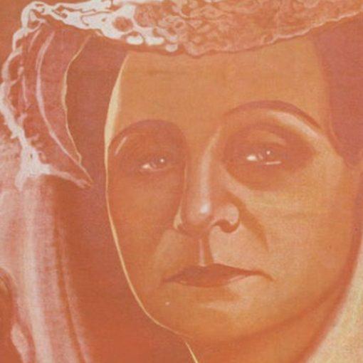 """Manifesti d'epoca: """"Emma Gramatica - Caterina de' Medici"""""""