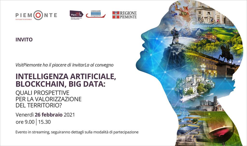 Convegno: Intelligenza Artificiale, Blockchain, Big Data: quali prospettive per la valorizzazione del territorio?