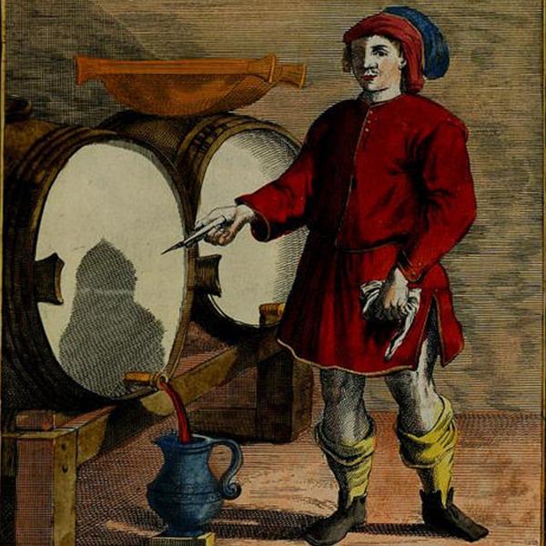"""I Proverbi Illustrati: """"La botte da del vino, ch'ella ha"""""""