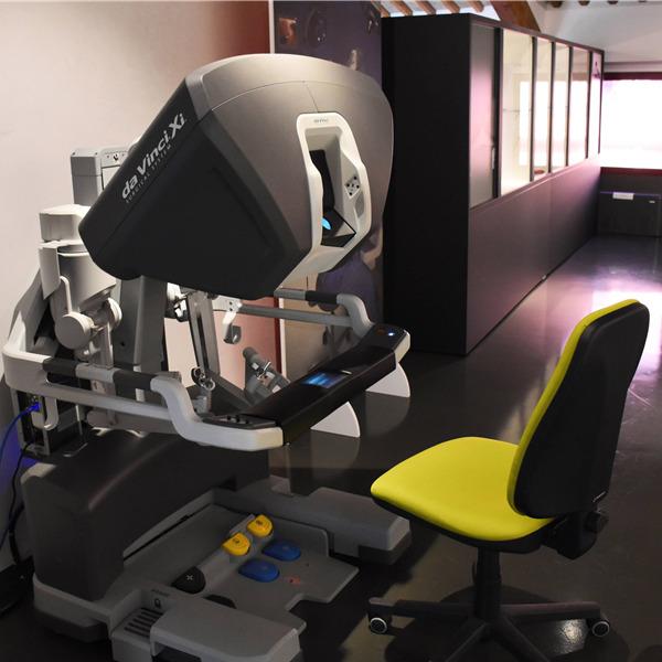 Il più evoluto sistema robotico per la chirurgia mini-invasiva esposto al MUSME