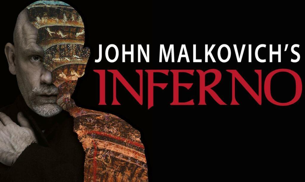 John Malkovich's Inferno - In esclusiva al Teatro Arcimboldi di Milano