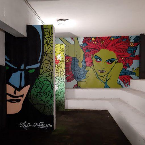La Street Art per la rigenerazione urbana nel quartiere Vigne Nuove a Roma