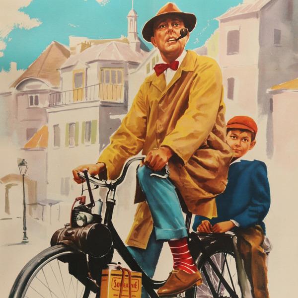 """Locandine - Il Cinema per immagini: """"Mon oncle (Mio zio)"""" di Jacques Tati"""