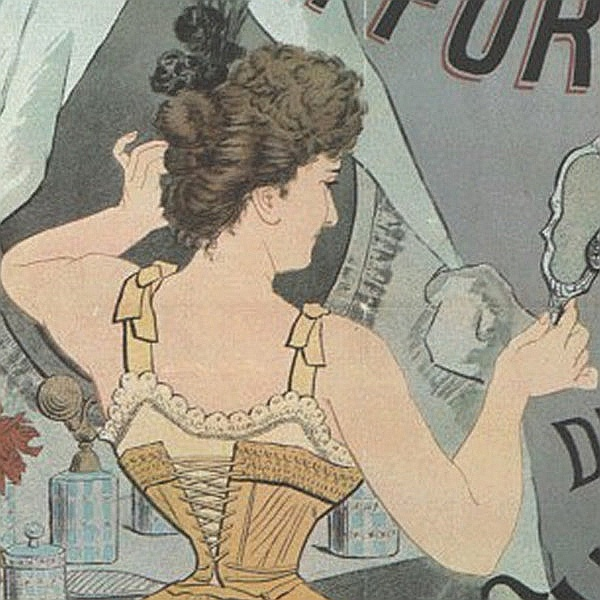 "Manifesti d'epoca: ""Exposition de coiffures"""