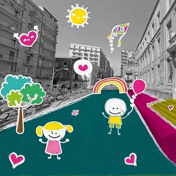 Strada per gioco: il progetto di urbanistica tattica a Catania