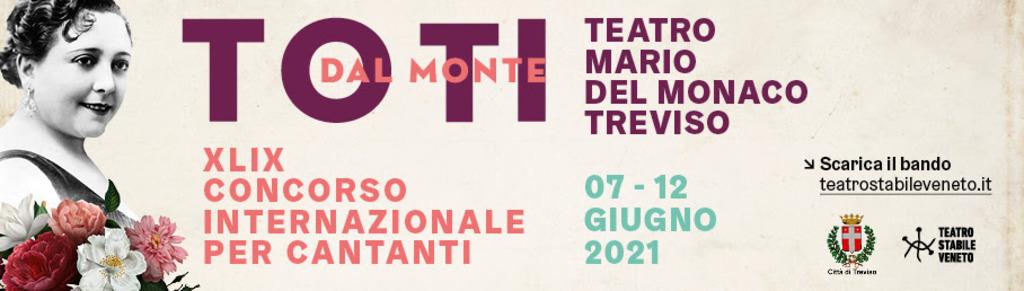 """Concorso internazionale per cantanti """"Toti Dal Monte"""""""