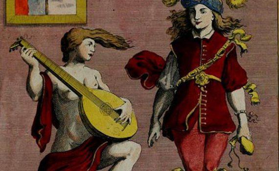"""I Proverbi Illustrati: """"Assai ben balla, a cui fortuna suona"""""""