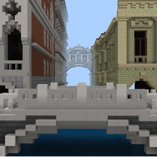 M9 Edu festeggia i 1600 anni di Venezia con un nuovo gioco di Minecraft