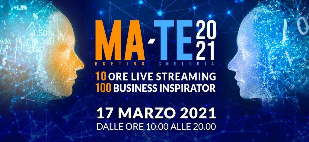 Ma-Te 2021 - Maratona digitale dedicata al marketing e alla tecnologia