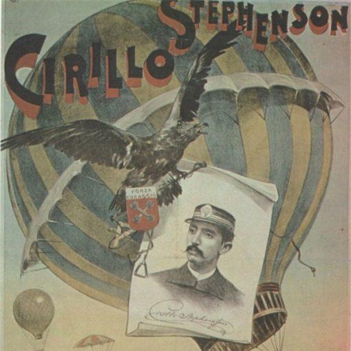 "Manifesti d'epoca: ""Cirillo Stephenson"""