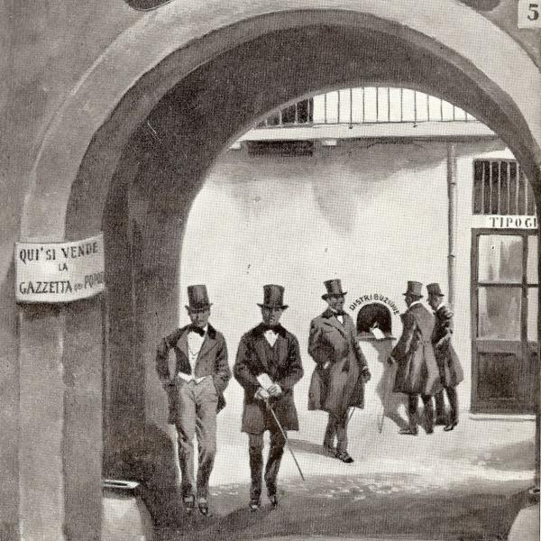 """Storia dell'Editoria: """"Gazzetta del Popolo"""""""