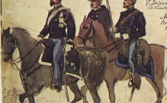 Uniformi militari - Il Codice Cenni: Tavola 14