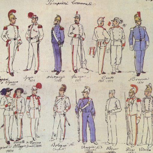 Uniformi militari - Il Codice Cenni: Tavola 15