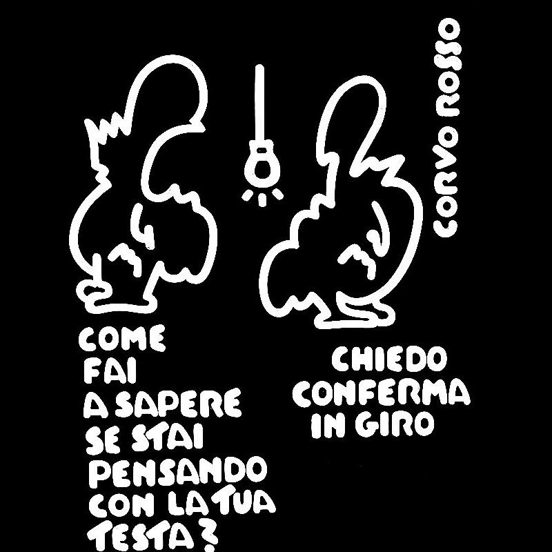 """Le Vignette di Corvo Rosso: """"Prova del nove"""""""