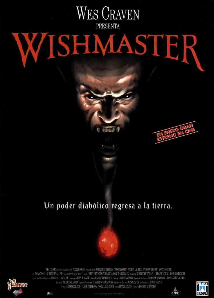 """B-Movie, il Meglio del Peggio del Cinema: """"Wishmaster - Il signore dei desideri"""""""