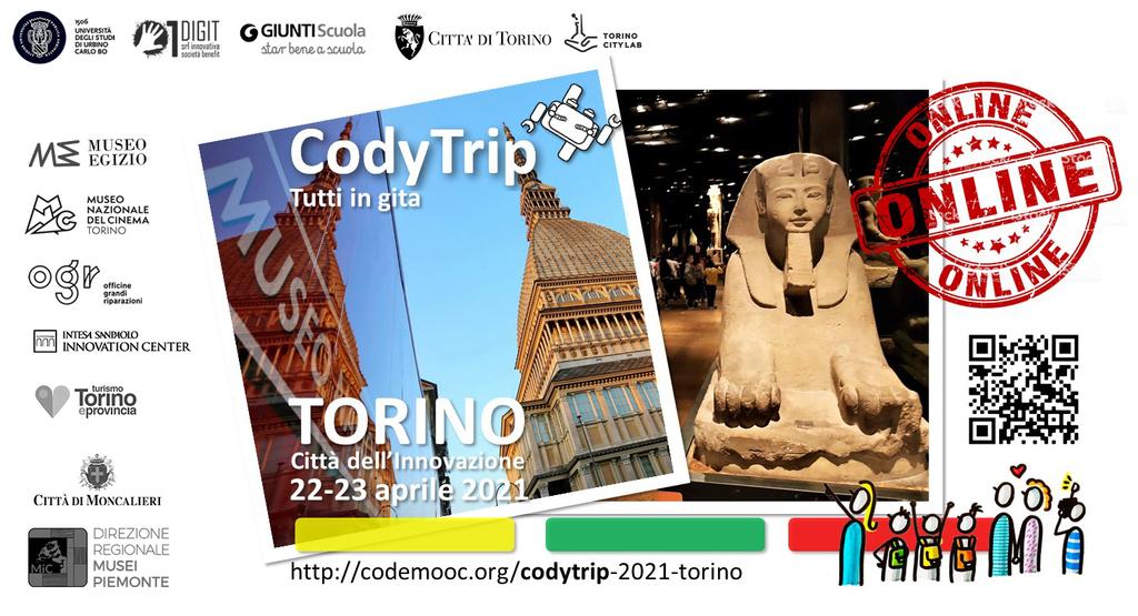 CodyTrip Torino: gita virtuale di fine anno all'Insegna dell'Innovazione