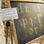 Corso di Calligrafia: Gotica Rutunda