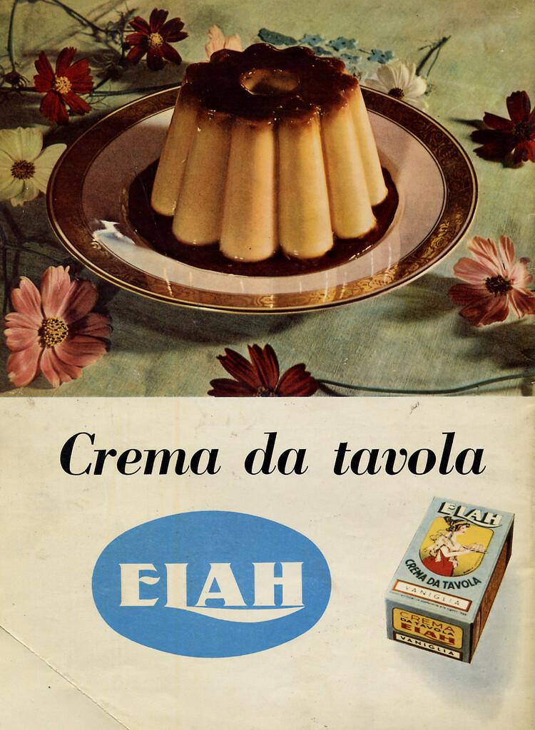 "Pausa Pubblicità: ""Crema da tavola Elah"" (1954)"