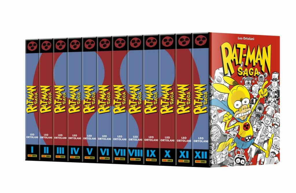 """Rat-Man Saga"" di Leo Ortolani (Vol. 1-12)"