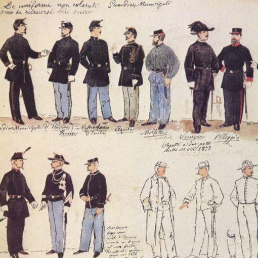 Uniformi militari - Il Codice Cenni: Tavola 16