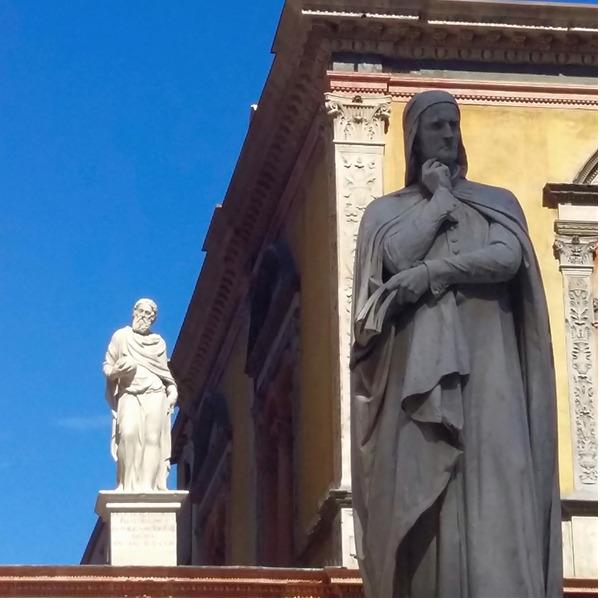 In cammino con Dante a Verona: mostra diffusa e mappa dei luoghi in città e provincia
