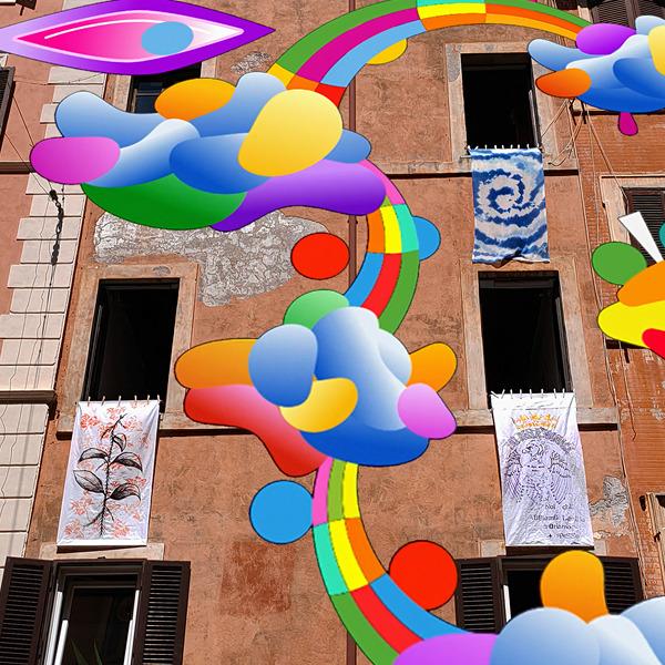 Lenzuola virtuali, reali, performativi e sonori per Tor Bella Monaca