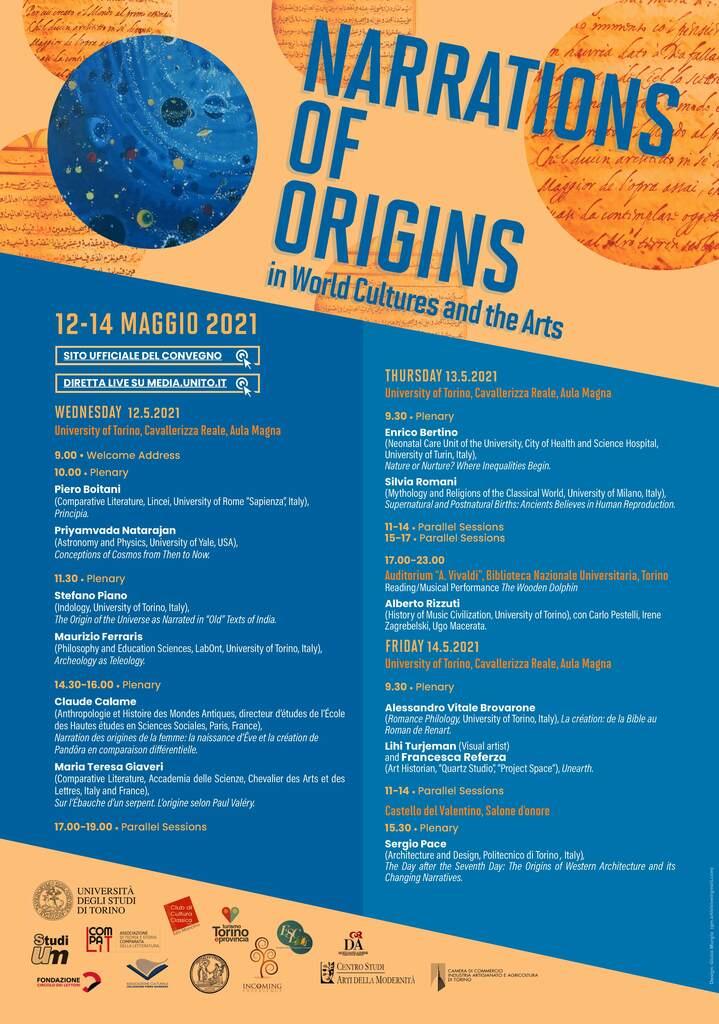 Narrazioni delle origini nelle culture del mondo e nelle arti