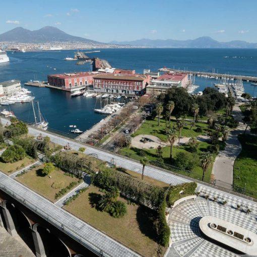 Rinasce il Giardino romantico di Palazzo Reale di Napoli