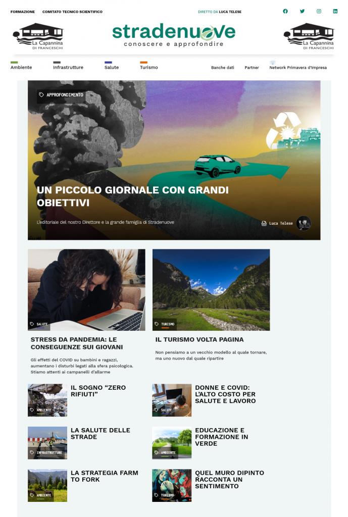 """""""Stradenuove"""": il nuovo giornale online diretto da Luca Telese"""