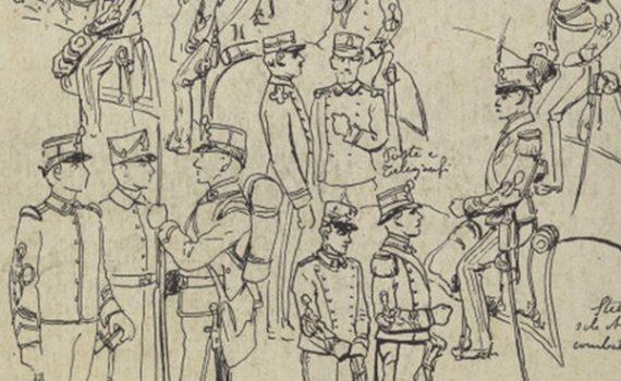 Uniformi militari - Il Codice Cenni: Tavola 17