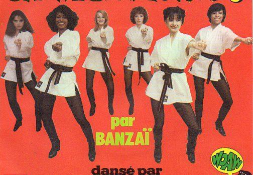 "B-Covers, il Meglio del Peggio: ""Banzaï / Les Clodettes – Chinese Kung Fu / Rythm Kung Fu"""