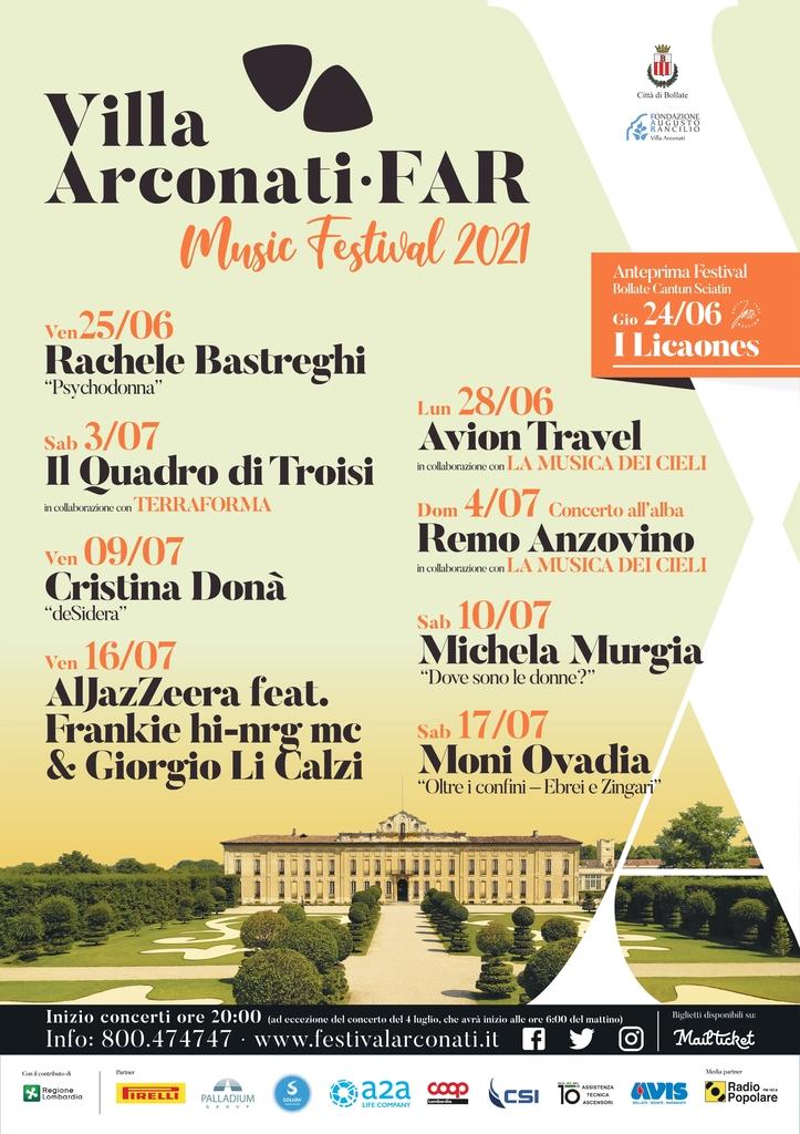 Festival di Villa Arconati - FAR 2021