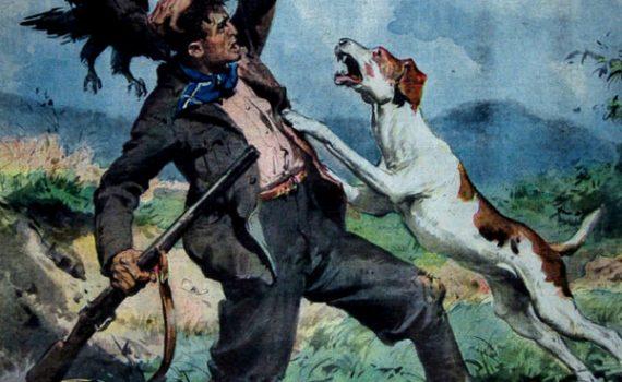 """I Disegni di Achille Beltrame: """"La caccia... al cacciatore"""""""