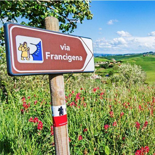 "in marcia dall'Europa a Roma: ""Via Francigena. Road to Rome 2021"""