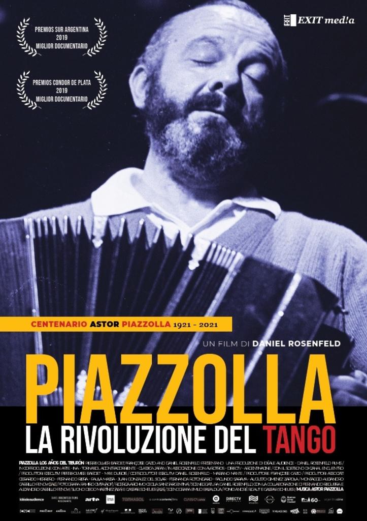 """""""Piazzolla. La rivoluzione del tango"""" di Daniel Rosenfeld da ottobre al cinema"""