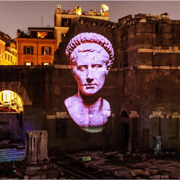 Viaggi nell'antica Roma - Spettacolo multimediale per rivivere la storia del Foro di Augusto
