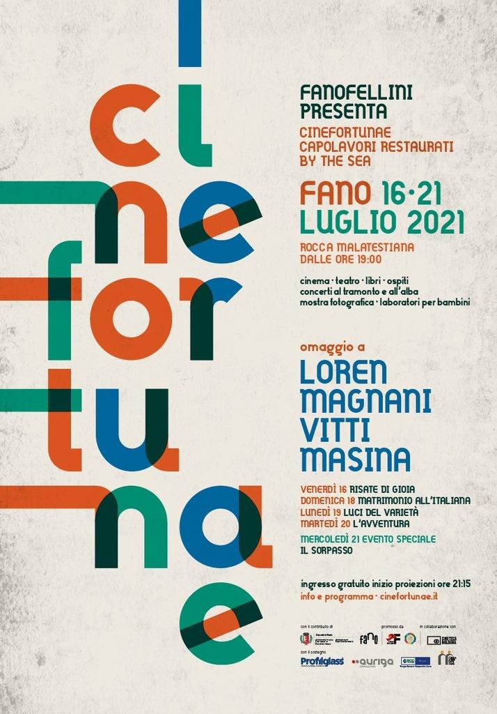 Cinefortunae 2021. Omaggio a quattro dive del cinema italiano