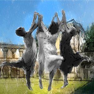 Dee e divinità danzanti all'Odeo Cornaro di Padova